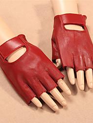 cheap -Half-finger Women's Motorcycle Gloves Sheepskin Wearproof / Breathable