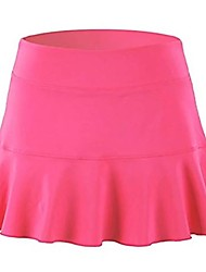 cheap -Women's Active Mini Skirts Solid Colored Knitting Patchwork