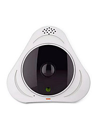 cheap -Techway Yoosee wireless wifi HD network camera wide angle fisheye monitoring VR panorama 360 degrees