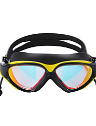 cheap -Swimming Goggles Waterproof Anti-Fog Mirrored Silicone PC N / A Transparent
