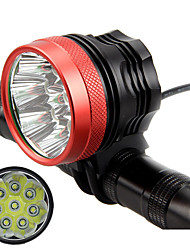 cheap -LED Bike Light Front Bike Light Headlight Flashlight LED Mountain Bike MTB Bicycle Cycling Waterproof Super Brightest Portable Easy to Install Rechargeable Battery 18650 5800 lm Rechargeable