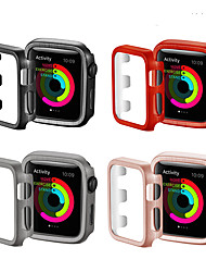 Недорогие -чехлы для яблочных часов серии 5/4/3/2/1 совместимость с пластиком apple