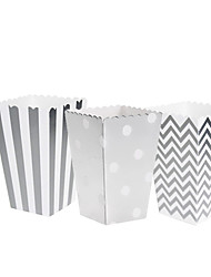 cheap -Cuboid Cardboard Paper Favor Holder with Pattern / Print Household Sundries / Home Decroration / Cupcake Wrapper and Boxes - 12pcs