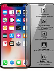 cheap -Privacy Protection Film Tempered Glass for iPhone X XR XS Max Screen Protector for iPhone 7 8 6S Plus Anti Peeping Protective