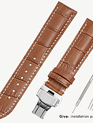 cheap -Substitute Tissot 1853 Men's Leather Watch with Locke Women's Leather King Casio Longines Bracelet Accessories 16/18/19/20mm