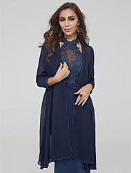 cheap -Half Sleeve Chiffon Wedding / Party / Evening Women's Wrap With Beading Coats / Jackets