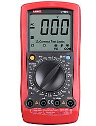 Недорогие -Цифровой мультиметр uni-t ut58c Вольтметр переменного / постоянного тока Амперметр Температура Емкость Частотомер Тестер Mulimetro