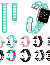 cheap -Smartwatch Band for Apple Watch Series 5/4/3/2/1 Silica Gel Classic Buckle iwatch Strap