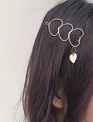 cheap -Women's Fashion Cute Alloy Hair Charms Daily - Solid Colored