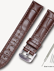 cheap -Subsidiary Tissot 1853 Leroy watch with men's leather strap female butterfly buckle library map original accessories 14/16/18/19mm