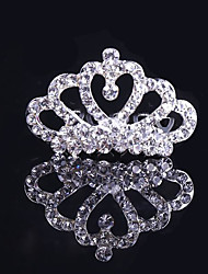 cheap -Alloy Tiaras / Hair Combs with Sparkling Glitter / Glitter 1pc Wedding / Party / Evening Headpiece