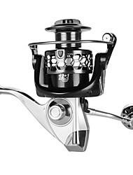 cheap -Fishing Reel Spinning Reel / Trolling Reel / Carp Fishing Reels 5.2:1;4.9:1;4.1:1 Gear Ratio+12 Ball Bearings Hand Orientation Exchangable Sea Fishing / Spinning / Freshwater Fishing / Carbon