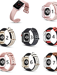 cheap -Genuine Leather Smartwatch Band for Apple Watch Series 5/4/3/2/1 Apple Classic Buckle iwatch Strap