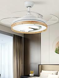 cheap -1-Light 108 cm Dimmable / LED Ceiling Fan Metal Circle Electroplated LED / Modern 110-120V / 220-240V