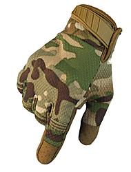 Недорогие -унисекс перчатки для полных пальцев из углеродного волокна / из шерсти теплый / воздухопроницаемый / солнцезащитный крем
