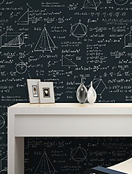 cheap -Wallpaper Plastic & Metal Wall Covering - Adhesive required Pattern