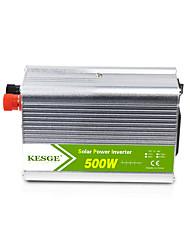 Недорогие -Kesge 500 Вт микро-модифицированный синусоидальный автомобильный инвертор DC12 / 24В в AC220В / 110В с высокой частотой