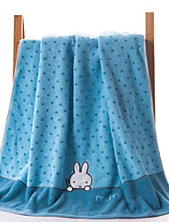 cheap -Superior Quality Bath Towel, Cartoon Cotton / Linen Blend Bathroom 1 pcs