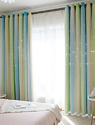 cheap -European Blackout One Panel Curtain & Sheer Living Room   Curtains