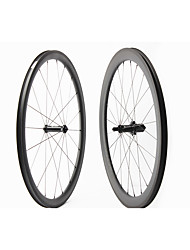 cheap -FARSPORTS 700CC Wheelsets Cycling 25 mm Road Bike Polycarbonate / Carbon Fiber Clincher / Tubeless Compatible 20/24 Spokes 50 mm / 30 mm