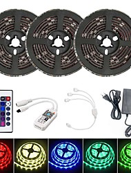 cheap -15M Smart LED Light Strips RGB Tiktok Lights TV Background Light WIFI SMD 5050 10mm 24Keys 450LED IP65 Waterproof DC5V With 5A EU