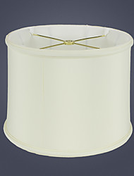 cheap -Lampshade Eye Protection / Ambient Lamps Rustic / Lodge / Traditional / Classic For Bedroom / Study Room / Office Fabric Yellow / White / Black