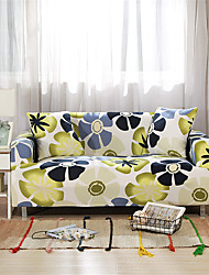 cheap -Floral Print Durable Soft High Stretch Slipcovers Sofa Cover Washable Spandex Couch Covers