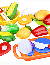 cheap -Pretend Play Cutting Play Food Vegetables Food Fruit Adorable Parent-Child Interaction Other Baby Infant Toy Gift