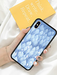 cheap -Case For iPhone X XS Max XR XS Back Case Soft Cover TPU Fresh Illustration Style A Group of White Pigeons TPU for iPhone5 5s SE 6 6P 6S SP 7 7P 8 8P