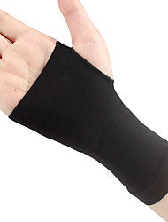 cheap -Hand & Wrist Brace for Running Fitness Non Slip Elastic Protection Spandex Fabric 1 Piece Sports Black