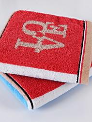 Недорогие -Высшее качество Полотенца для мытья, Контрастных цветов Чистый хлопок 4.0 pcs