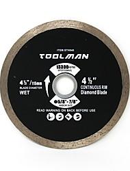 cheap -Toolman Circular Saw Blade Universal Fit 4 1/2 For Metal Aluminum Steel