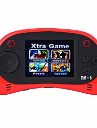 cheap -RS-8 Handheld Game Player for Kids Portable Gaming System Video Game Player 2.5 LCD Built-in 260 Classic Games
