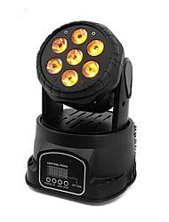 Недорогие -1 компл. Светодиодный свет этапа dmx512 управления звуком 7 шарик движущийся головной свет крашения свет dj бар бальные украшения свет