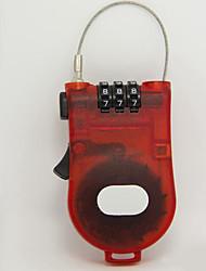 Недорогие -провод с сухим кодом / пластиковая разблокировка паролем чемодана / ящика для инструментов