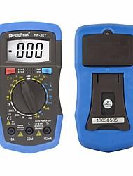 Недорогие -Holdpeak hp-36t ручной диапазон цифровой тестер профессиональный мультиметр постоянного тока переменное напряжение сопротивление измерения температуры инструмент
