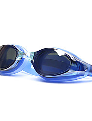 cheap -Swimming Goggles Waterproof Diving Goggles Anti-Fog Mirrored PVC Polycarbonate N / A Silver