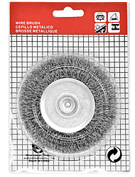 cheap -Crimped Steel Wire Cup Brush Set 4 x 1/4 1-1/8 for Dewalt & SKIL Power Drill