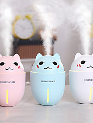cheap -Lunar light humidifier USB power supply mini convenient large capacity air purification hydrating mute night light humidifier 3 kinds of light color 880ML