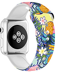 cheap -Silica gel motion Smartwatch Band for Apple Watch Series 5/4/3/2/1 iwatch Strap