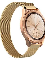 abordables -Bracelet de Montre  pour Samsung Galaxy Watch 42 Samsung Galaxy Bracelet Milanais Acier Inoxydable Sangle de Poignet