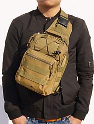 Недорогие -Муж. Молнии холст Слинг сумки на ремне Контрастных цветов Военно-зеленный / Верблюжий / Хаки / Наступила зима