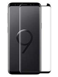 Недорогие -Защитные пленки для Samsung9 Защитная пленка для экрана высокого разрешения (HD) 1 шт. Закаленное стекло