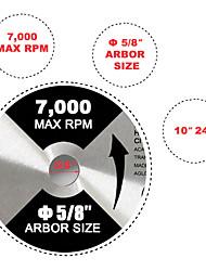 abordables -lame de scie circulaire 10 5/8 24t 50t 180t 3 pcs pour dewalt& pointe en carbure de makita