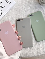 cheap -Case For Apple iPhone XR / iPhone XS Max Pattern Back Cover Heart Soft TPU for iPhone X XS 8 8PLUS 7 7PLUS 6 6S 6PLUS 6S PLUS