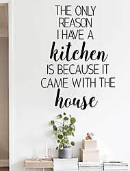 Недорогие -английские пословицы настенные наклейки - слова&усилитель; цитаты стикеры на стенах персонажи кабинет / кабинет / столовая / кухня