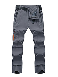 cheap -Men's Convertible Pants / Zip Off Pants Outdoor Windproof Breathable Quick Dry Sweat-wicking Pants / Trousers Bottoms Camping / Hiking Hunting Fishing Army Green Grey Khaki 4XL L XL XXL XXXL
