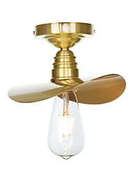 cheap -1-Light Pendant Light Ambient Light Electroplated Brass Copper New Design Adjustable Creative 110-120V / 220-240V