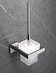 cheap -Toilet Brush Holder New Design / Creative Contemporary / Modern Metal 1pc - Bathroom Wall Mounted