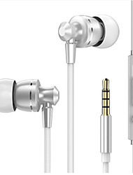 cheap -LITBest PTM D11 Wired In-ear Earphone Wired Mobile Phone Noise-Cancelling Stereo Dual Drivers